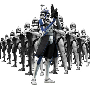 ster Wars: Clone Wars achtergrond entitled Captain Rex