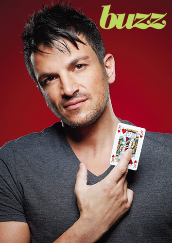 peter andre वॉलपेपर containing a sign called Card Holding : Peter Andre