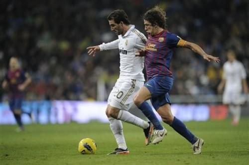 Carles Puyol - FC Barcelona (3) v Real Madrid (1) - La Liga