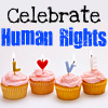 Human Rights تصویر entitled Celebrate Human Rights - Candles and Cake Theme