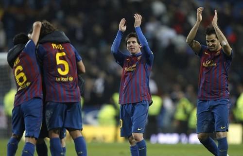 Cesc Fabregas - FC Barcelona (3) v Real Madrid (1) - La Liga