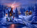 Christmas Night - daydreaming wallpaper