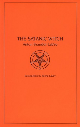 Anton Szandor LaVey wolpeyper possibly containing a venn diagram called Church Of Satan Book Collection