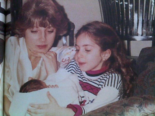 Cynthia, Stefani and Natali Germanotta