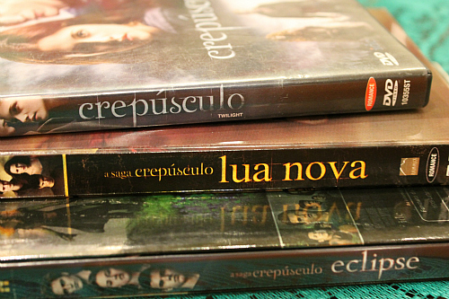 DVD- Twilight, New Moon, Eclipse