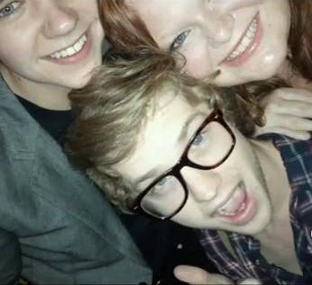 Damian, Hannah and Cameron