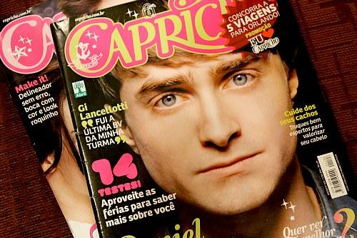 Daniel Radcliffe- Magazine ( CAPRICHO BRAZIL! )