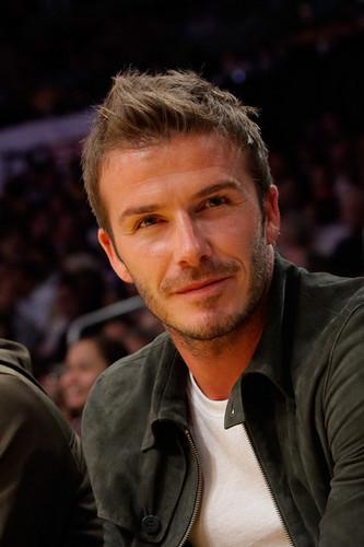 David Beckham sexy look
