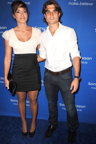 David Ferrer and girlfriend 2
