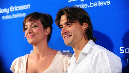 David Ferrer and girlfriend 2