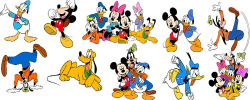 Walt Disney larawan - Disney Collage