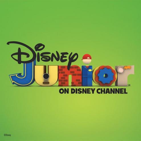 Дисней Junior Logo - Imagination Movers Variation