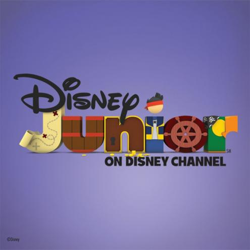 ディズニー Junior Logo - Jake and the Never Land Pirates Variation