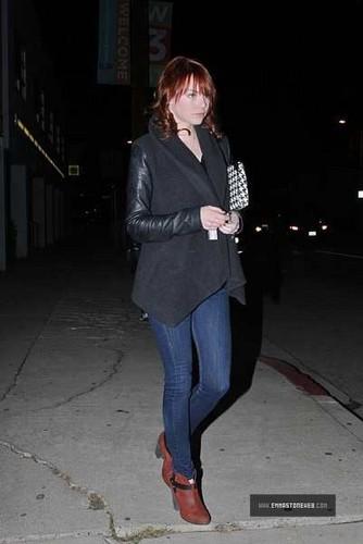 Emma Stone In Los Angeles 12/07