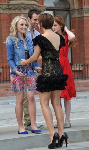 Emma Watson and Evanna Lynch