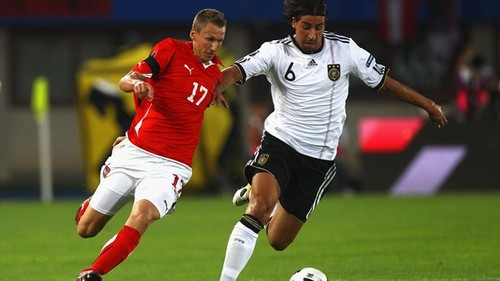 Euro 2012 Qualifier - Austria vs Germany
