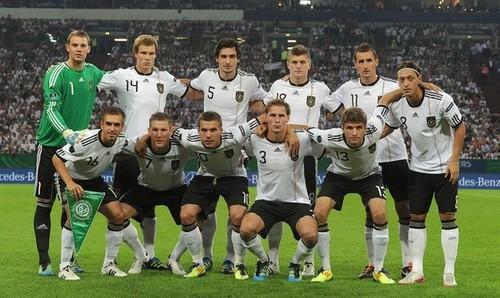 Euro 2012 Qualifier - Germany vs Austria
