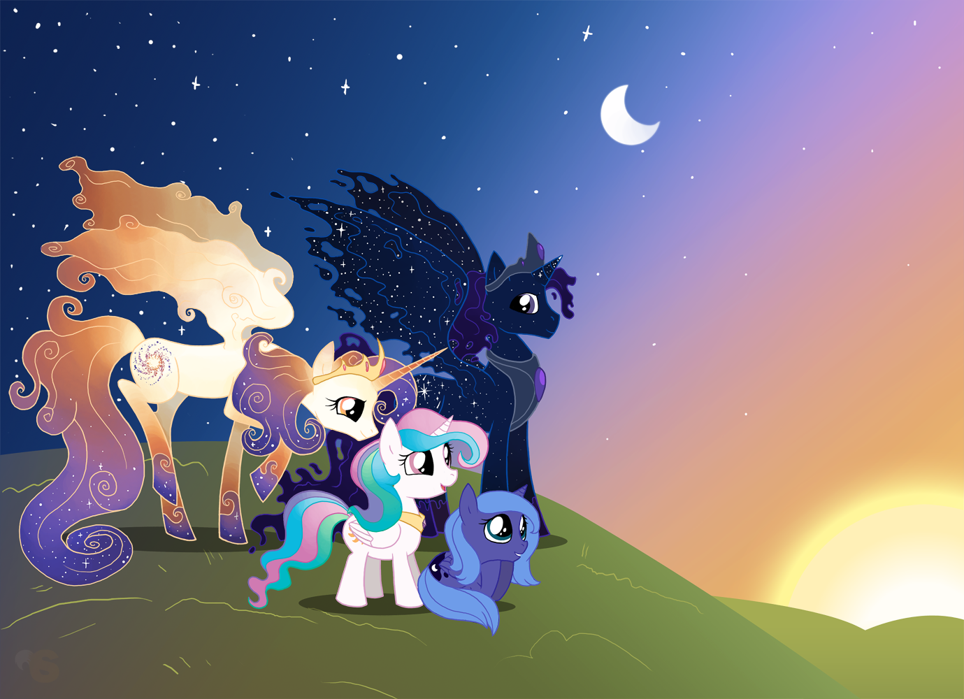 Family-Time-my-little-pony-friendship-is-magic-27586765-1379-1000