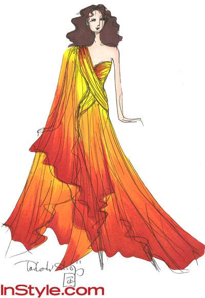 платья известных дизайнеров, описание.