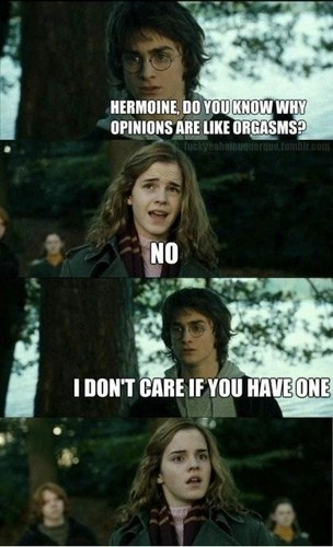 Funny Harry and Hermione