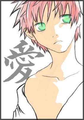 Gaara of Suna wallpaper with anime titled Gaara <3