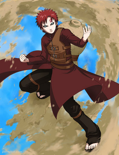 Gaara of Suna wallpaper entitled Gaara <3