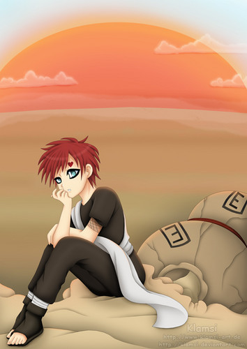 Gaara of Suna wallpaper containing bare legs entitled Gaara <3