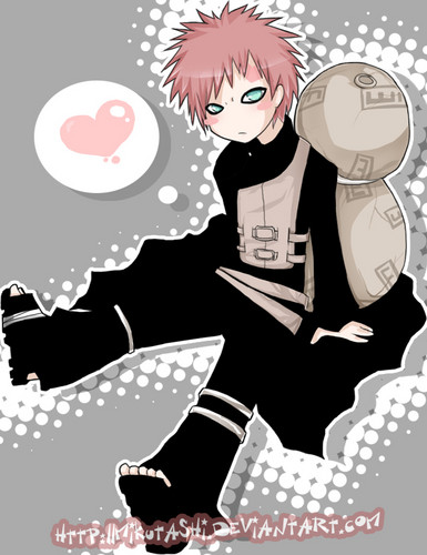 Gaara of Suna wolpeyper probably containing anime titled Gaara <3