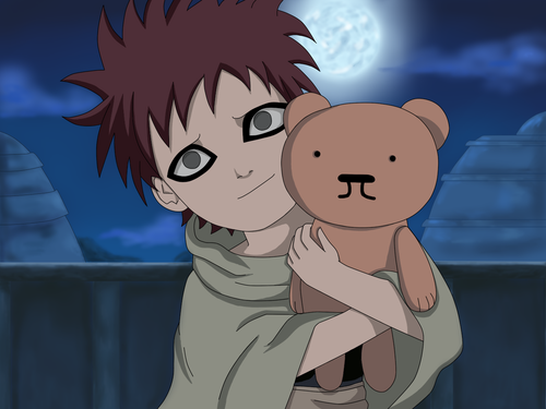 Gaara of Suna wallpaper probably containing anime called Gaara <3