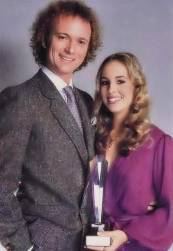 Genie Francis and Tony Geary 1980 Soap Opera Digest Award.