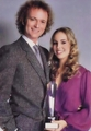 Genie Francis and Tony Geary 1980 Soap Opera Digest Award.