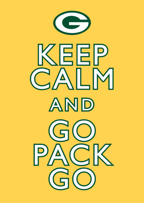 Go Pack Go - green-bay-packers Fan Art