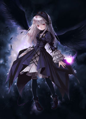 gótico animê Girl