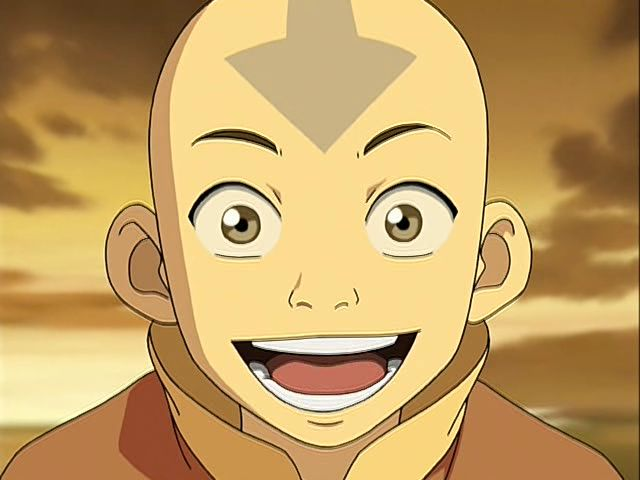 Happy Aang