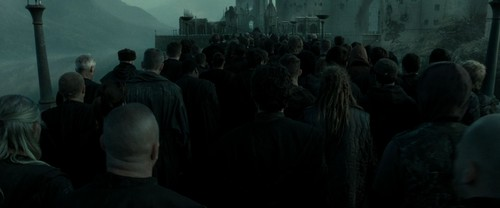 Harry Potter 7: Deathly Hallows (Part 2) - death-eaters Screencap