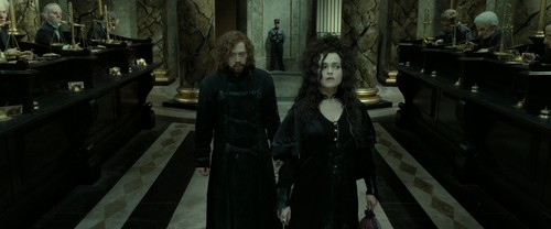 Bellatrix Lestrange wolpeyper possibly with an abattoir and a kalye entitled Harry Potter and the Deathly Hallows Part 2 (BluRay)