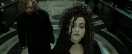 Bellatrix Lestrange fond d'écran called Harry Potter and the Deathly Hallows Part 2 (BluRay)