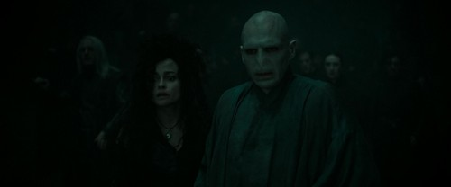 Bellatrix Lestrange fond d'écran called Harry Potter and the Deathly Hallows Part 2 (BluRay)
