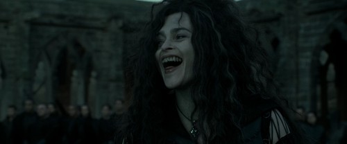 Bellatrix Lestrange kertas dinding titled Harry Potter and the Deathly Hallows Part 2 (BluRay)