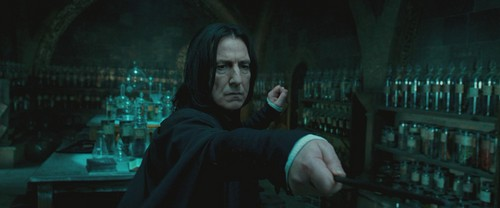 Harry Potter and the Order of the Phoenix (BluRay) - severus-snape Screencap