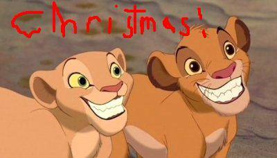 Have a lion knig Christmas!!!