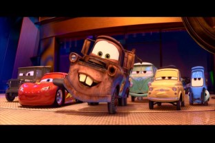 Disney Pixar Cars 2 wallpaper titled Hey! There She Is! Hey! Hey Lady! See You Tomorrow!