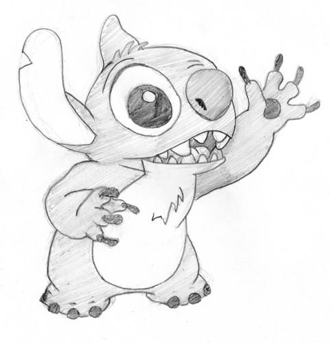 Lilo & Stitch Hintergrund possibly containing Anime called Hi Stitch
