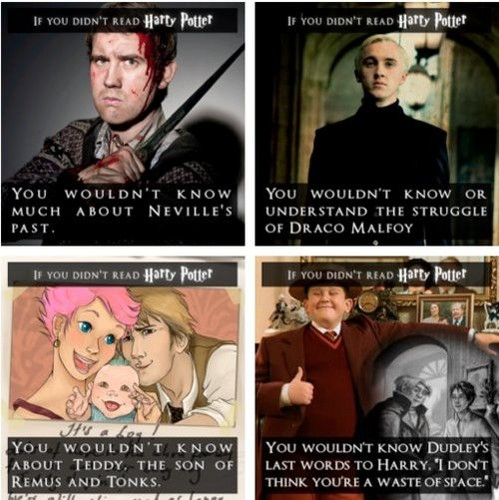 If Ты Didn't Read Harry Potter...
