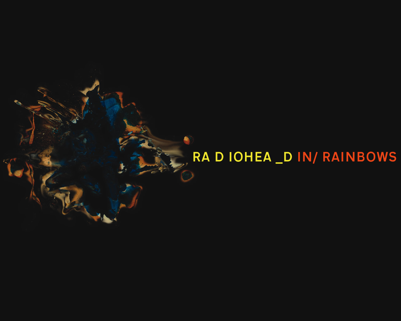 Radiohead Images In Rainbows Hd Wallpaper And Background