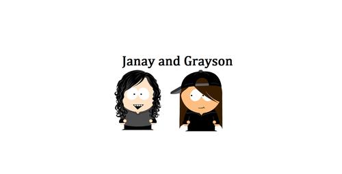 Janay and I