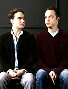 Jim Parsons and Johnny Galecki