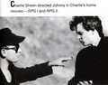 Johnny Depp and Charlie Sheen
