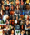 Johnny Depp's movie characters