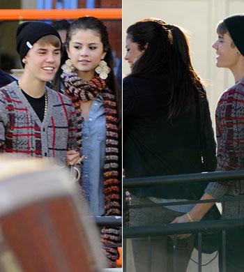 Justin Bieber Grabs Selena Gomez's Butt